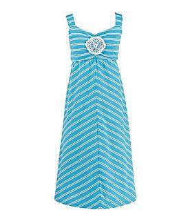 Girl 7 16 Striped Dress  Dillards