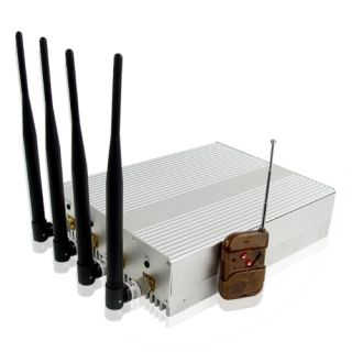 Wholesale High Power Mobile Phone Jammer with Remote Control From