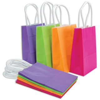 Paper Reflections Small Gift Bags   Bright Colors   13 Count  Meijer