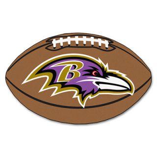 FANMATS Baltimore Ravens Football Rug  Meijer