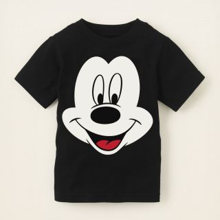 baby boy   graphic tees   Mickey face graphic tee  Childrens