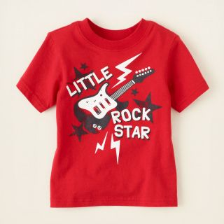 baby boy   graphic tees   rock star graphic tee  Childrens Clothing