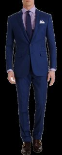 Ralph Lauren Black Label Dot Pinstripe Suit
