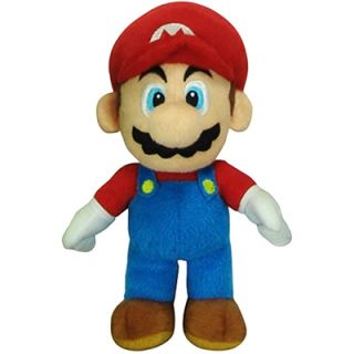 Super Mario Brothers Mario 6 Inch Plush Toy  Meijer