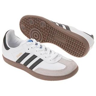 Athletics adidas Kids Samba Pre/Grd Wht/Blk/Gum Shoes