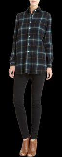Salvatore Piccolo Plaid Flannel Shirt