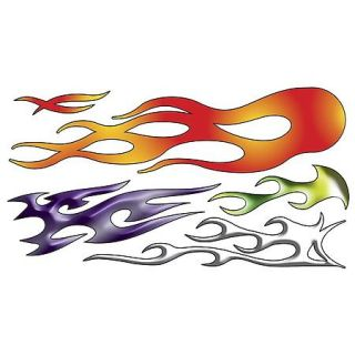 Image of Flames Decal Kit by Chroma Graphics   part# 5305