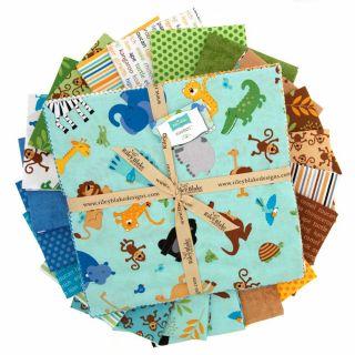 Riley Blake Zoofari 10 Stackers   Discount Designer Fabric   Fabric
