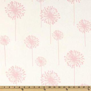 Premier Prints Dandelion White/Bella Pink   Discount Designer Fabric