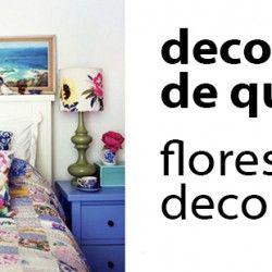 Decoração de quarto: itens e acessórios com flores