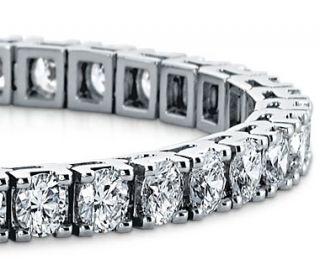 Diamond Tennis Bracelet in 18k White Gold (10 ct. tw.)  Blue Nile