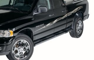 Dee Zee FX Running Boards Chrome adds some shine to your sides Black