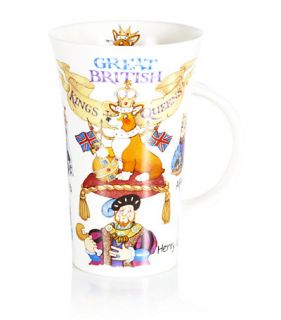 Dunoon – Great British Kings & Queens Mug at Harrods.