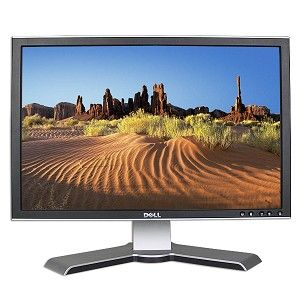 22 Dell 2208WFPt DVI Rotating Widescreen LCD Monitor w/USB Hub (Black