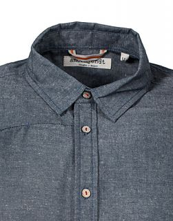 Angus Shirt   Anerkjendt   Blue   Shirts (men)   Clothing men   NELLY