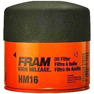 Fram Oil Filter High Mileage   JCWhitney