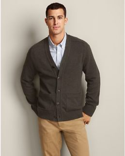 Classic Fit Sportsman Cotton/Cashmere Cardigan  Eddie Bauer