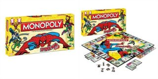 Spiderman Monopoly: : Toys  chapters.indigo.ca