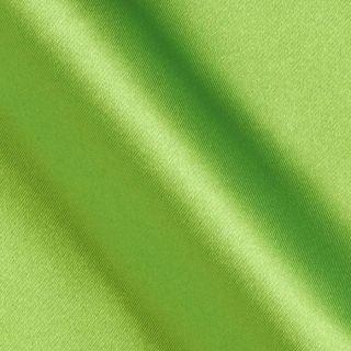 Slipper Satin Lime   Discount Designer Fabric   Fabric