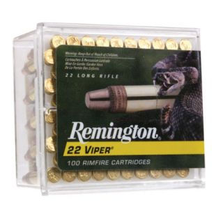 Remington .22 Viper LR Rimfire Ammunition