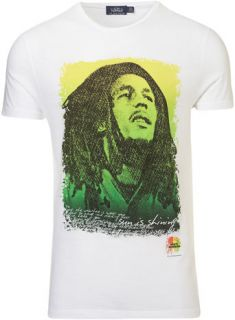 Bob Marley Print T Shirt   Mens T shirts & Vests   Clothing