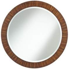 Uttermost Jules Round 35 Wide Wall Mirror