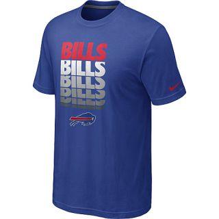 Buffalo Bills Tees Nike Buffalo Bills Blockbuster T Shirt