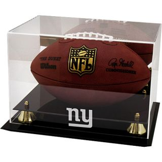 Football Display Cases Mounted Memories New York Giants Team Logo