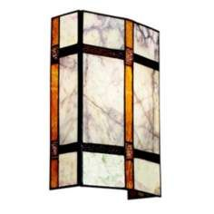 Kichler Bronze Tiffany Style 12 High Wall Sconce
