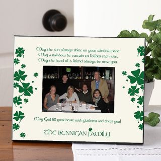 7967   Irish Blessing Personalized Frame