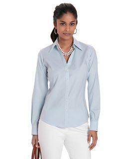 Petite Non Iron Spago Dress Shirt with XLA   Brooks Brothers