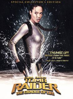Lara Croft Tomb Raider The Cradle of Life DVD, 2003, Full Frame