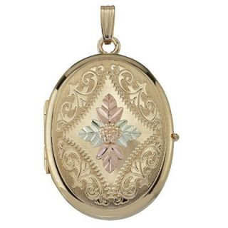 Black Hills Gold Oval Locket in 14K Gold Fill   View All Necklaces