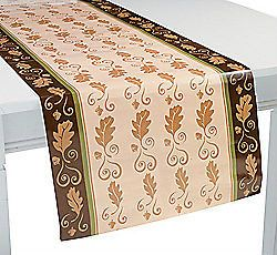 AUTUMN FALL Table Runner Maple Wedding Decoration Thanksgiving Cover