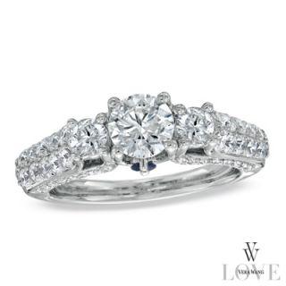 Vera Wang LOVE Collection 1 3/4 CT. T.W. Diamond Three Stone