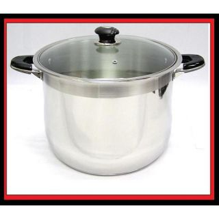 Prime STOCK POT 20QT STAINLESS STEEL   Outlet