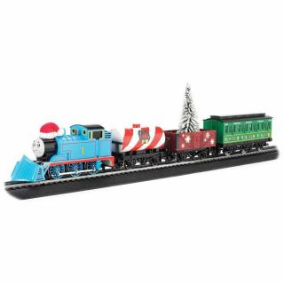 Thomas & Friends Holiday Special Train Set at Brookstone—Buy Now