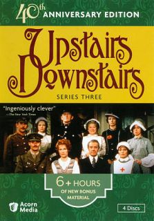 Upstairs Downstairs Series Three DVD, 2011, 4 Disc Set, 40th