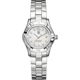 TAG HEUER WAF1415BA0813 Aquaracer Lady diamond set watch (Mother of