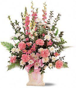 Recuerdos con Cariño Flores, Arreglo Floral Recuerdos con Cariño