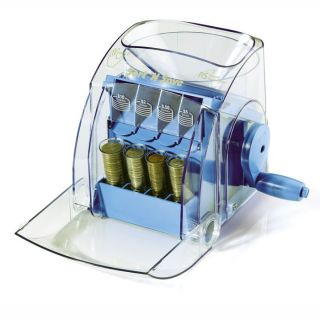 Manual Operating Coin Sorter at Brookstone—Buy Now