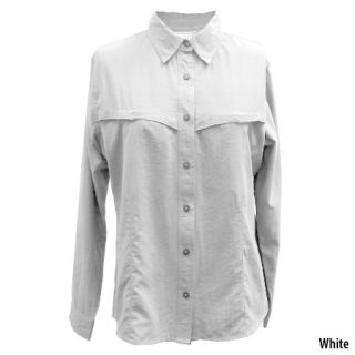 White Sierra Womens Catch And Release Long Sleeve Fishing Shirt