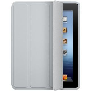 MacMall  Apple iPad Smart Case   Polyurethane   Light Gray MD455LL/A