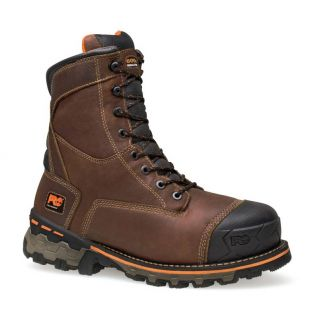 Timberland Pro Mens 8 inch Boondock Soft Toe Waterproof Insulated