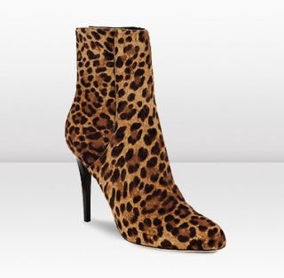 Jimmy Choo  Balfour  100mm Ankle Boots in Leopard Print Pony