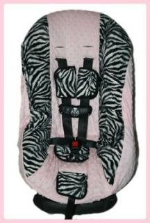 Toddler Baby Minky CAR SEAT COVER ZOE fits Britax Graco