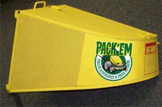 Grass Catcher Bagger Exmark Trivantage Walk Behind 36   4.4 cubic ft