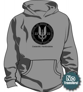 SAS #2 Special Air Service Ops Military New Mens Hoodie