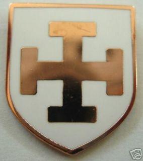 Crusaders Teutonic Knights Order German Cross PIN mason