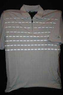 IZOD Mens Xtreme Function 1/2 Zip Golf Polo Shirt NWT Cool FX fabric